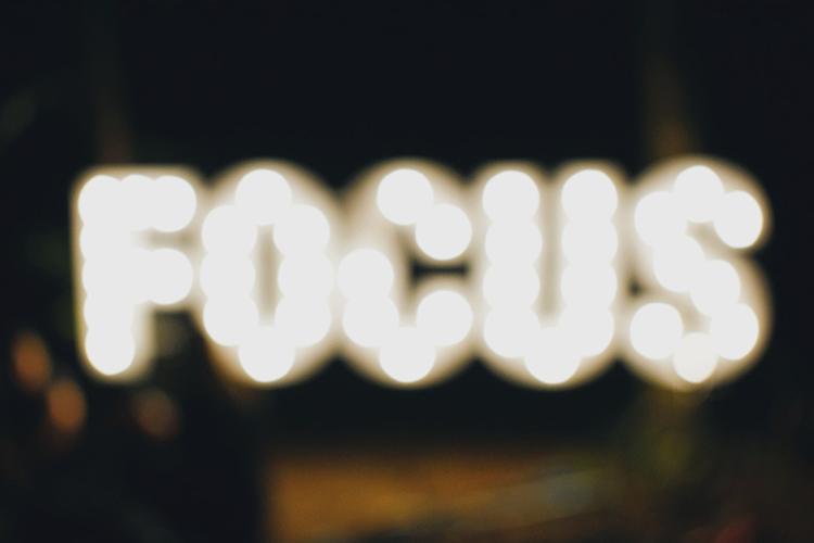 Focus op het werk